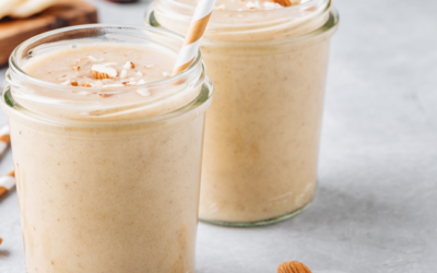 SPICY ALMOND LOW-CARB SMOOTHIE