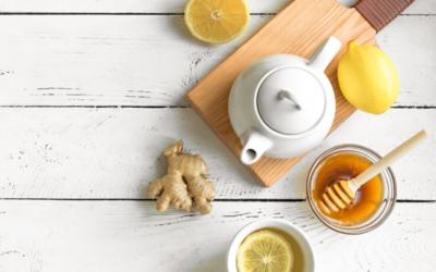 FRESH GINGER CLEANSING TEA
