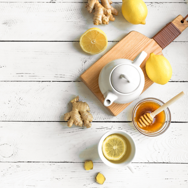 FRESH GINGER CLEANSING TEA